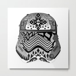 Mandala Phasma Metal Print