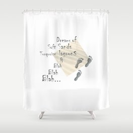 footstep products, printed products, footstep printable, quotes printed, print gifts, printeddreams Shower Curtain