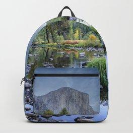 Valley View 6668 Pano - Yosemite National Park, CA Backpack