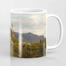 The Superstition Mountains Coffee Mug