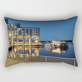 Nice place for romantic meeting Rectangular Pillow
