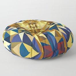 Golden Tutankhamun - Pharaoh's Mask Floor Pillow