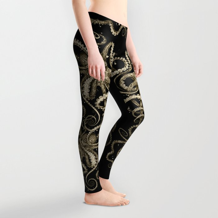Octopsychedelia Sepia Leggings