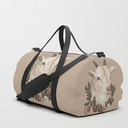 Goat and Figs Duffle Bag