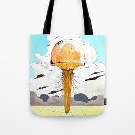 Méduse volante #4 Tote Bag