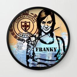 Franky Doyle Wall Clock