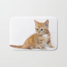 Ginger Kitten Bath Mat