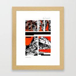 After Wainwright - Grasmoor 16 Framed Art Print