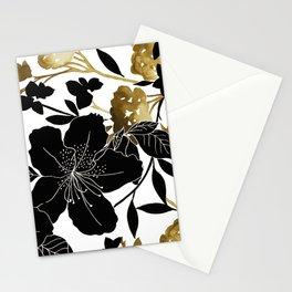 Black Azelea Stationery Cards