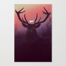 Great Prince of the Forest (version A) Canvas Print