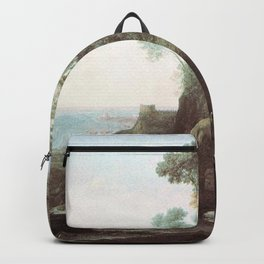 Claude Lorrain - Apollo and the Muses on Mount Helicon Backpack