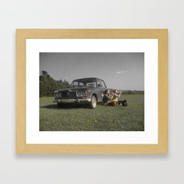 Weekend in the Country Framed Art Print