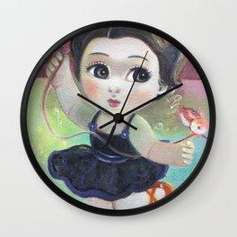 Little Ballerina Wall Clock