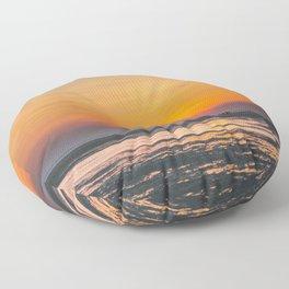 Cape Cod sunset Floor Pillow