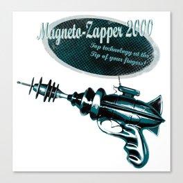 Retro RayGun Magneto-Zapper Canvas Print