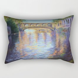 The River Cam Rectangular Pillow