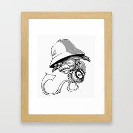 Life, Hip-Hop is! Framed Art Print