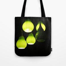Green Lamps Tote Bag
