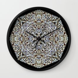 Buttons Up Squared Wall Clock