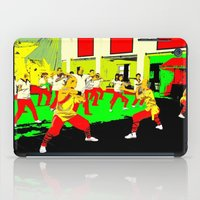 workout iPad Cases featuring Workout by lookiz