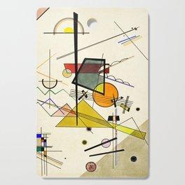 Wassily Kandinsky - Melodisch Cutting Board
