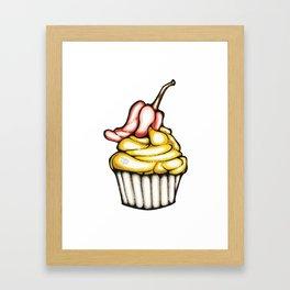 Cupcake/Pepper Framed Art Print