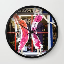 Long, Thin and Beautiful. Wall Clock
