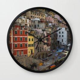 Cinque Terre- Riomaggiore 2 Wall Clock