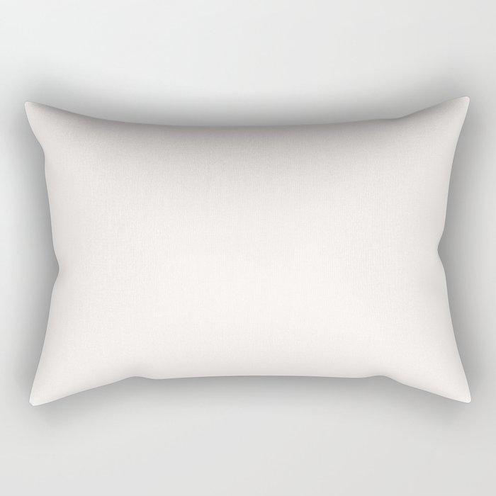 Coconut Butter Rectangular Pillow