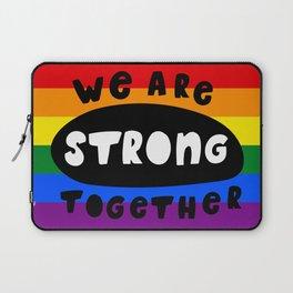 Rainbow flag LGBT GAY PRIDE SEASON QUEER ART Laptop Sleeve