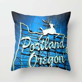 PDX Throw Pillow