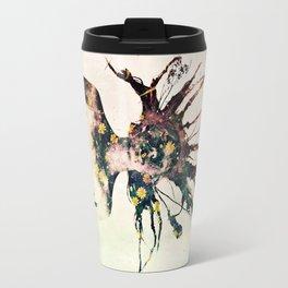 Earthy Medusa Roots Travel Mug