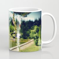 lonely Mugs featuring lonely by Kras Arts - Fly Me To The Moon