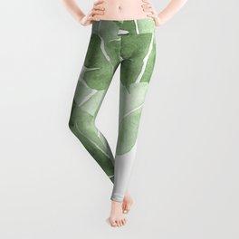 Tropical Leaves 2 Leggings