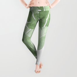 Tropical Leaves 2 Leggings