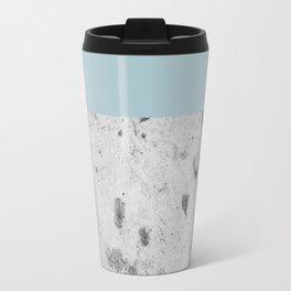 Color Block Concrete Travel Mug