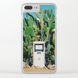 Cactus IV Clear iPhone Case