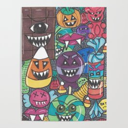 Killer Candy Poster