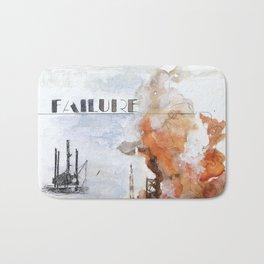 F is for Failure Bath Mat