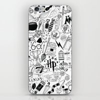 hogwarts iPhone & iPod Skins featuring Hogwarts, Hogwarts, Hoggy Warty Hogwarts by girlinplaits