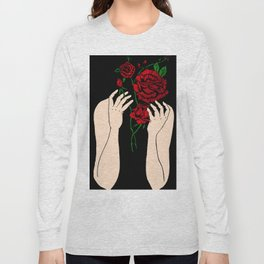 Heather's Flowers Long Sleeve T-shirt