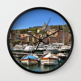 Postcard Beauty Wall Clock