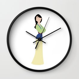 Mulan Wall Clock