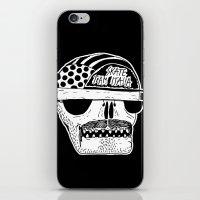 italian iPhone & iPod Skins featuring Italian Skull  by Mr. JJ