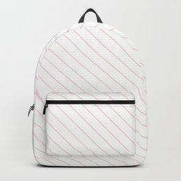 Blushing Bride Stripe Backpack