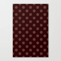 polka Canvas Prints featuring Polka by Taylor Steiner