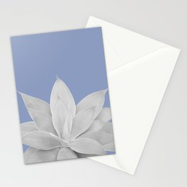 Lavender Lustre Agave #1 #tropical #decor #art #society6 Stationery Cards