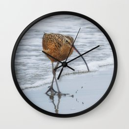 Long Billed Curlew Wall Clock