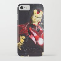 ironman iPhone & iPod Cases featuring Ironman by JLEEORIGINALS