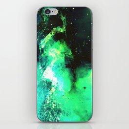 Green Nebula iPhone Skin